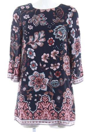 Ecote Langarmkleid florales Muster Casual-Look