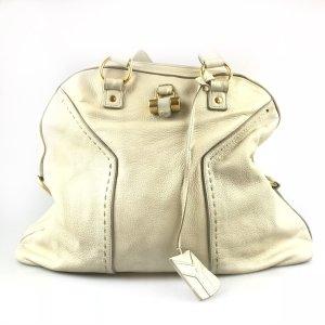 Ecru Yves Saint Laurent Shoulder Bag