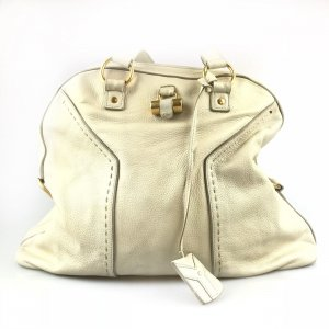 Ecru Yves Saint Laurent Shoulder Bag