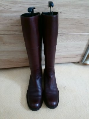 Slouch Boots dark brown