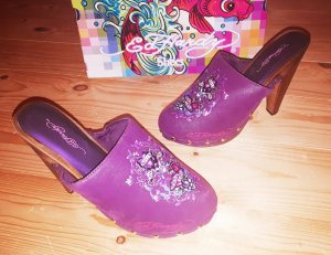 Ed Hardy Heel Clogs Pumps