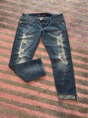 Ed Hardy 7/8 Length Jeans multicolored