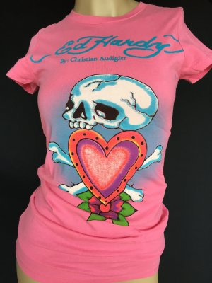 Ed Hardy Shirt in pink