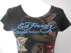 Ed Hardy Shirt schwarz neu