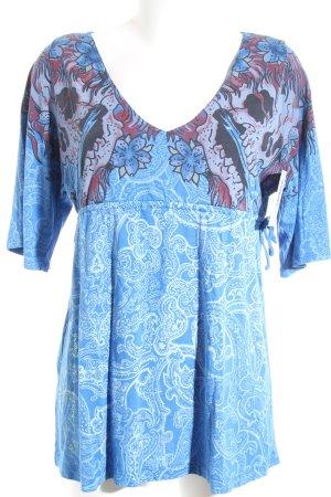 Ed Hardy Shirttunika florales Muster extravaganter Stil