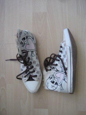 Ed Hardy Sneaker Needle/Ivory Damen Gr. 39-Passt auch 38