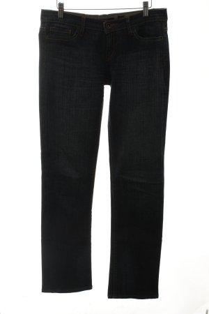 Ed Hardy Straight-Leg Jeans graublau Casual-Look