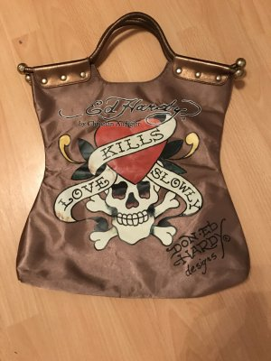 "Ed Hardy Tasche ""love kills slowly"""