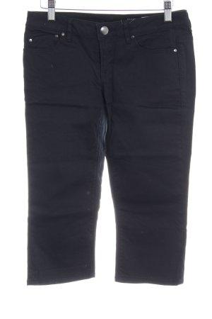 edc Jeans 3/4 noir style décontracté
