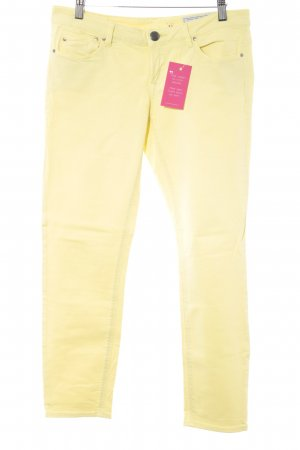 edc 7/8 Jeans blassgelb extravaganter Stil
