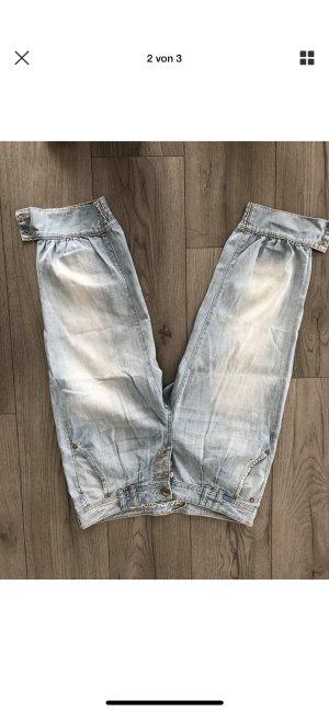 edc by Esprit 7/8 Length Jeans light blue