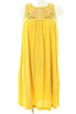 edc A-Linien Kleid blassgelb Casual-Look