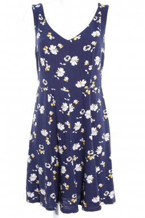 edc A-Linien Kleid Blumenmuster Casual-Look