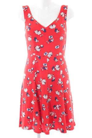 edc A-Linien Kleid florales Muster Casual-Look