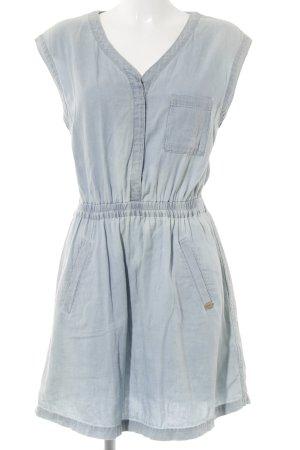 edc A-Linien Kleid hellblau Casual-Look