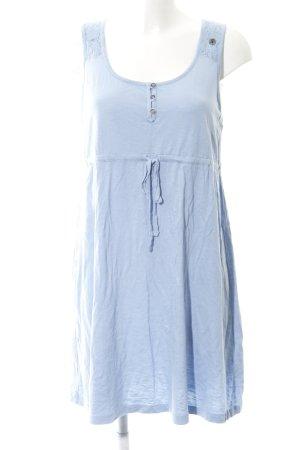 edc A-Linien Kleid himmelblau Casual-Look
