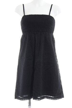 edc A-Linien Kleid schwarz Gothic-Look