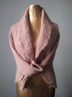 edc Alpaca Bolero in rose