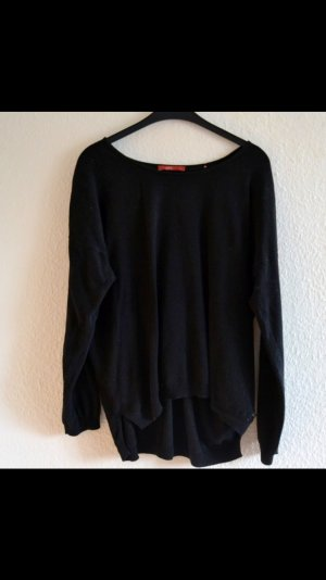 edc basic-pullover schwarz