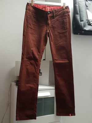 edc Baumwolle Skinny in Bordeaux 34 Short