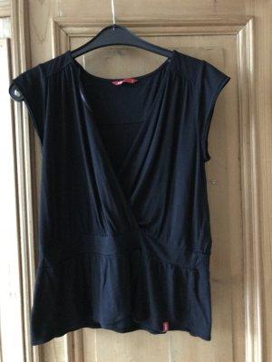 EDC Bluse Shirt schwarz Gr. M