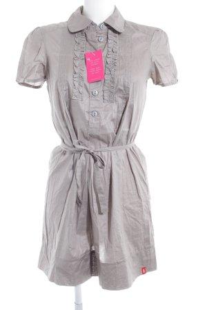 edc Blusenkleid grau-silberfarben Casual-Look