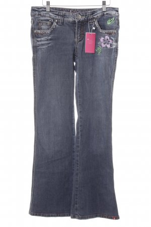 edc Boot Cut Jeans blau Casual-Look
