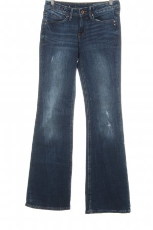 edc Boot Cut Jeans dunkelblau Casual-Look