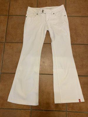 edc by Esprit Boot Cut spijkerbroek wit