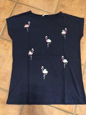Edc Boyfriend Tshirt /- Flamingo