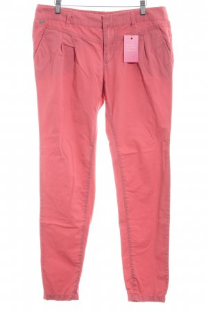 edc Pleated Trousers bright red casual look