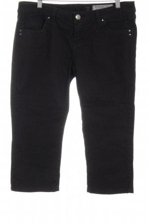 edc by Esprit 3/4-jeans zwart casual uitstraling