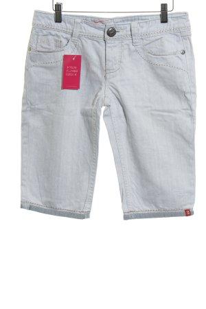 edc by Esprit Jeans a 3/4 azzurro puntinato stile casual