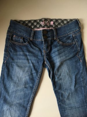 edc by Esprit 7/8-jeans blauw