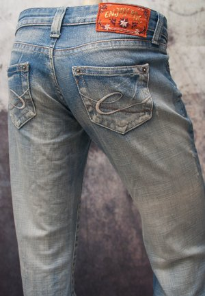 EDC BY ESPRIT ~ 7/8 JEANS ~ SIZE 32 REGULAR (XS)