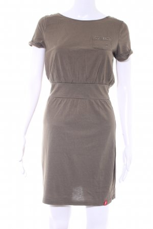 edc by Esprit A-Linien Kleid olivgrün Casual-Look