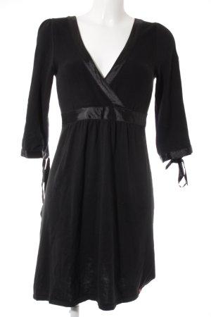 edc by Esprit A-Linien Kleid schwarz Casual-Look
