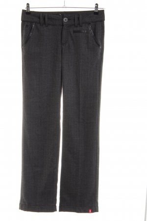 edc by Esprit Suit Trouser light grey striped pattern casual look