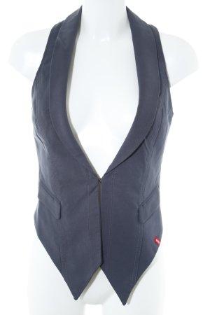 edc by Esprit Waistcoat dark blue classic style