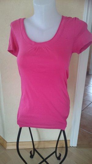 Edc by Esprit Basic T-Shirt Gr M Pink