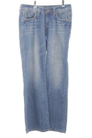 edc by Esprit Boot Cut Jeans blau Casual-Look