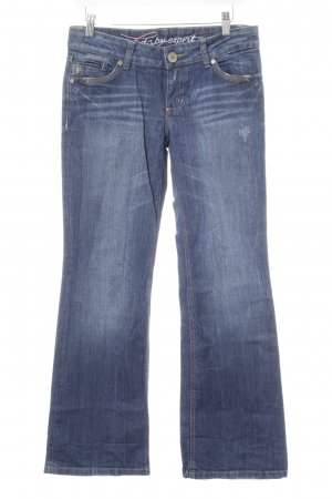 edc by Esprit Boot Cut Jeans blau Casual-Look