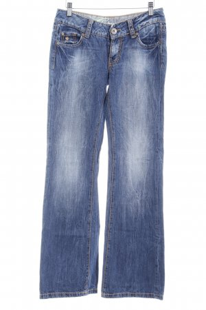 edc by Esprit Boot Cut Jeans stahlblau Casual-Look