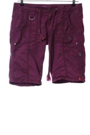 edc by Esprit Caprihose rot Casual-Look
