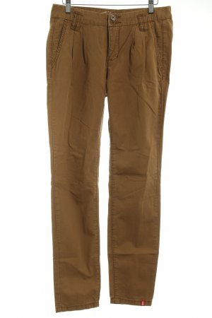 edc by Esprit Chinohose hellbraun Casual-Look