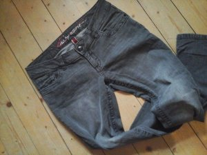 Edc by Esprit coole Skinny Jeans Gr. 31 Länge 30 grau Model Five Waschung Knackpo Top Zustand