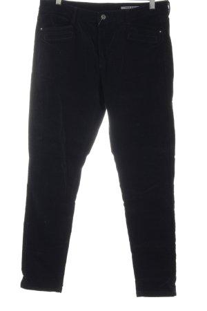 edc by Esprit Pantalone di velluto a coste nero stile casual