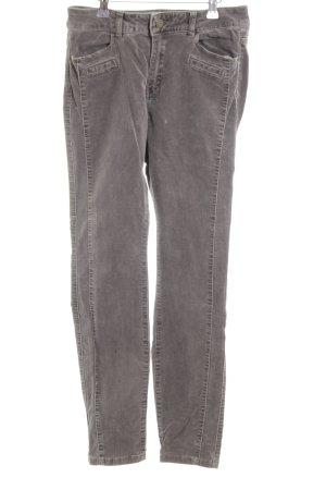 edc by Esprit Pantalon en velours côtelé gris clair style mode des rues