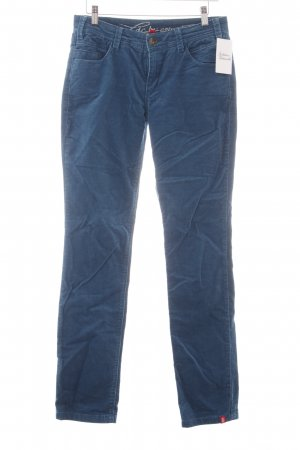 edc by Esprit Corduroy broek cadet blauw casual uitstraling