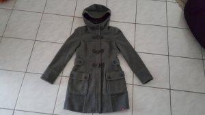 edc by Esprit Duffel Coat dark grey wool